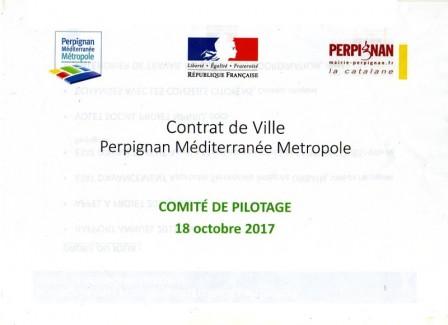 Comité de pilotage 2017 du Contrat de Ville