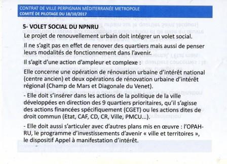 Volet social du NPNRU